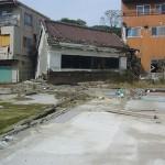 震災後の角星店舗