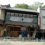 震災直後の武山米店