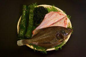 海藻とお魚セット(イメージ)